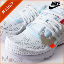 Nike AIR PRESTO Street Style Collaboration Plain Sneakers