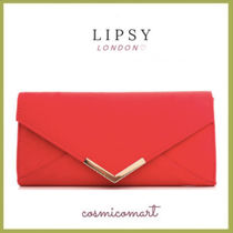 Lipsy Suede 2WAY Chain Plain Party Style Special Edition