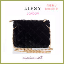 Lipsy Faux Fur 2WAY Chain Party Style Party Bags