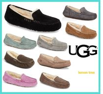 UGG Australia ANSLEY Moccasin Casual Style Fur Flats