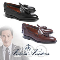 Brooks Brothers Loafers Plain Leather U Tips Loafers & Slip-ons