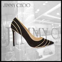Jimmy Choo Suede Pointed Toe Pumps & Mules