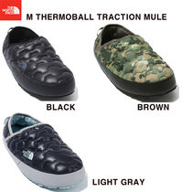 THE NORTH FACE Camouflage Unisex Street Style Plain Shoes