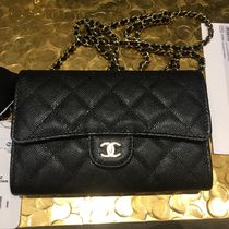 CHANEL ICON Calfskin Bag in Bag Plain Shoulder Bags