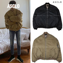 ASCLO Leopard Patterns Street Style Collaboration Plain MA-1