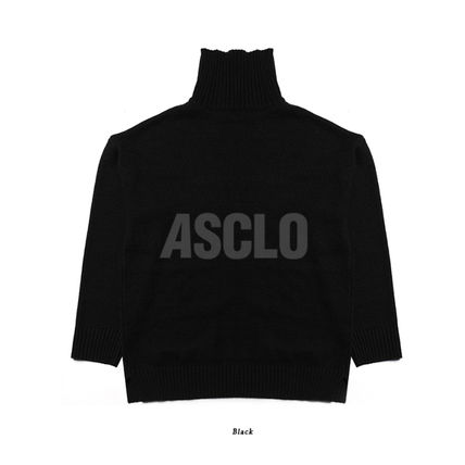 ASCLO Knits & Sweaters Unisex Long Sleeves Plain Knits & Sweaters 15