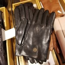 Tory Burch Leather Leather & Faux Leather Gloves