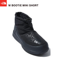 THE NORTH FACE Plain Toe Mountain Boots Rubber Sole Casual Style