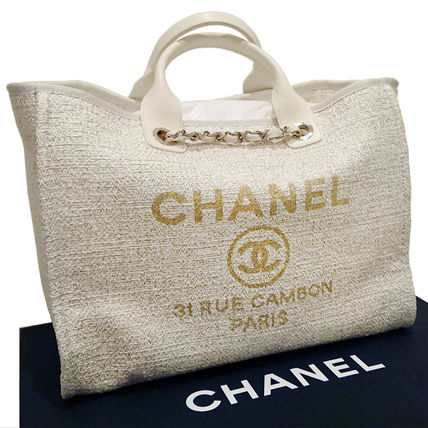 CHANEL Totes Casual Style Totes 6