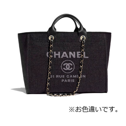 CHANEL Totes Casual Style Totes 2