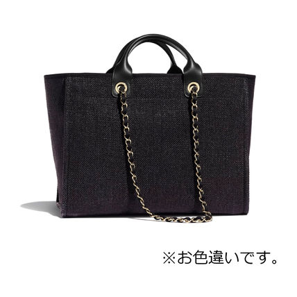 CHANEL Totes Casual Style Totes 3