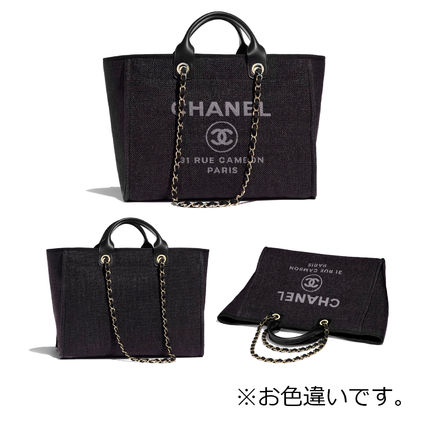 CHANEL Totes Casual Style Totes 5