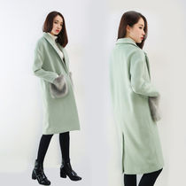 Casual Style Faux Fur Plain Medium Chester Coats