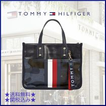 Tommy Hilfiger Camouflage Casual Style Unisex Canvas Street Style A4 Plain