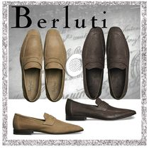 Berluti Loafers Plain Leather V Tips Loafers & Slip-ons