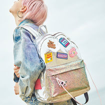 Entre Reves Casual Style Unisex Street Style A4 Plain Backpacks