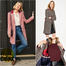 Boden Other Check Patterns Wool Medium Coats