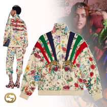 GUCCI Flower Patterns Casual Style Jackets