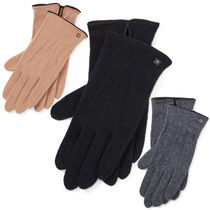 Ralph Lauren Wool Plain Smartphone Use Gloves