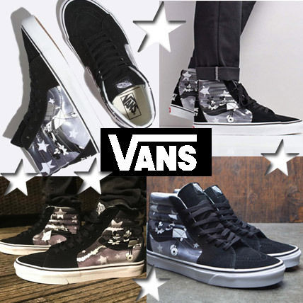 ba7c1f9ab67c VANS SK8-HI 2018-19AW Unisex Street Style Collaboration Sneakers by ...