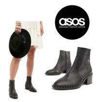 ASOS Leather Ankle & Booties Boots