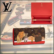 Louis Vuitton MONOGRAM Other Animal Patterns Special Edition Long Wallets