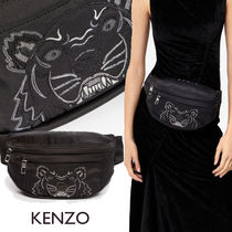 KENZO Unisex Blended Fabrics Street Style Other Animal Patterns