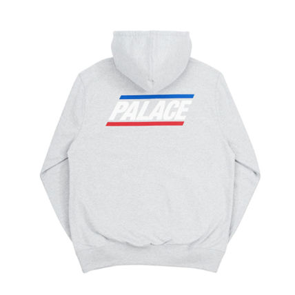 Palace Skateboards Hoodies Unisex Street Style Long Sleeves Plain Oversized Hoodies 3