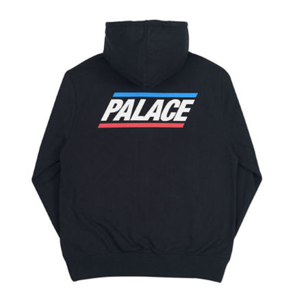 Palace Skateboards Hoodies Unisex Street Style Long Sleeves Plain Oversized Hoodies 5