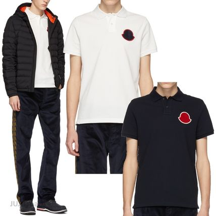 fd9b5b38 MONCLER 2019 SS Plain Cotton Short Sleeves Polos by JUJU_paris - BUYMA