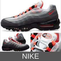 Nike AIR MAX 95 Unisex Street Style Plain Sneakers