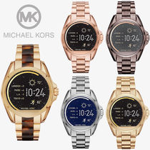 Michael Kors Unisex Round Stainless Elegant Style Digital Watches