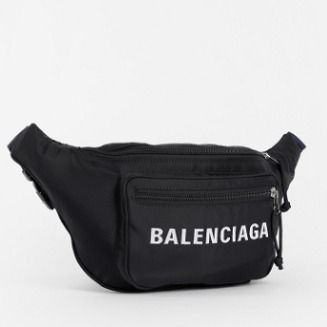 BALENCIAGA Hip Packs Unisex Nylon Plain Hip Packs 5