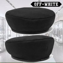 Off-White Beret & Hunting Hats