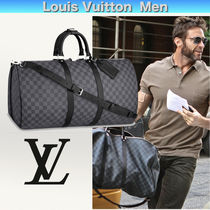 Louis Vuitton DAMIER Gingham Cambus Blended Fabrics 2WAY Boston Bags