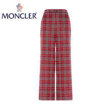 MONCLER Other Check Patterns Casual Style Cotton
