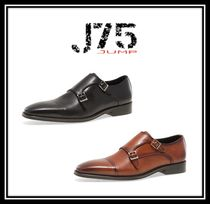J75 by JUMP Monk Faux Fur Plain Bold Loafers & Slip-ons
