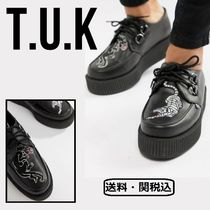 TUK Faux Fur Other Animal Patterns Oxfords