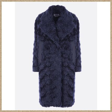 Plain Medium Elegant Style Coats