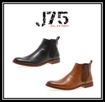 J75 by JUMP Plain Leather Chelsea Boots Chelsea Boots