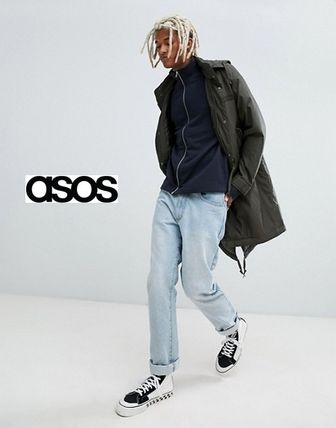 ASOS Sweatshirts Sweat Street Style Long Sleeves Plain Sweatshirts 4