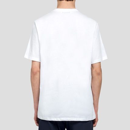 MSGM Crew Neck Crew Neck Plain Cotton Short Sleeves Crew Neck T-Shirts 3