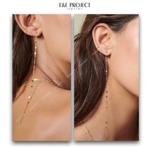 E and E PROJECT Chain 14K Gold Elegant Style Fine