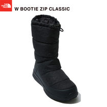 THE NORTH FACE Plain Toe Rubber Sole Casual Style Street Style