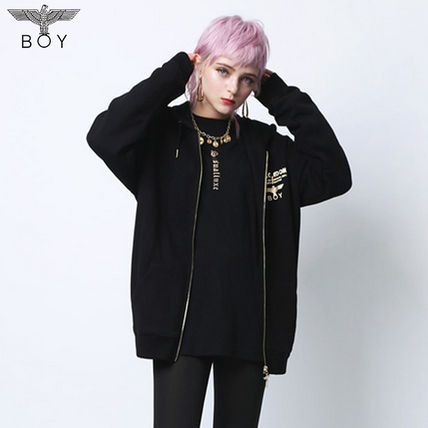 Unisex Street Style Long Sleeves Other Animal Patterns