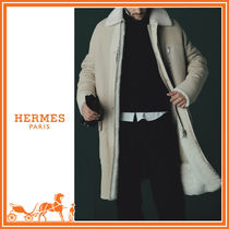 HERMES Fur Long Coats