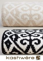 kashwere Damask Ethnic Throws