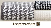 kashwere Geometric Patterns Throws