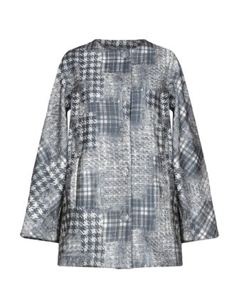 Other Check Patterns Faux Fur Blended Fabrics Street Style