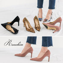 Other Check Patterns Leopard Patterns Pin Heels Office Style
